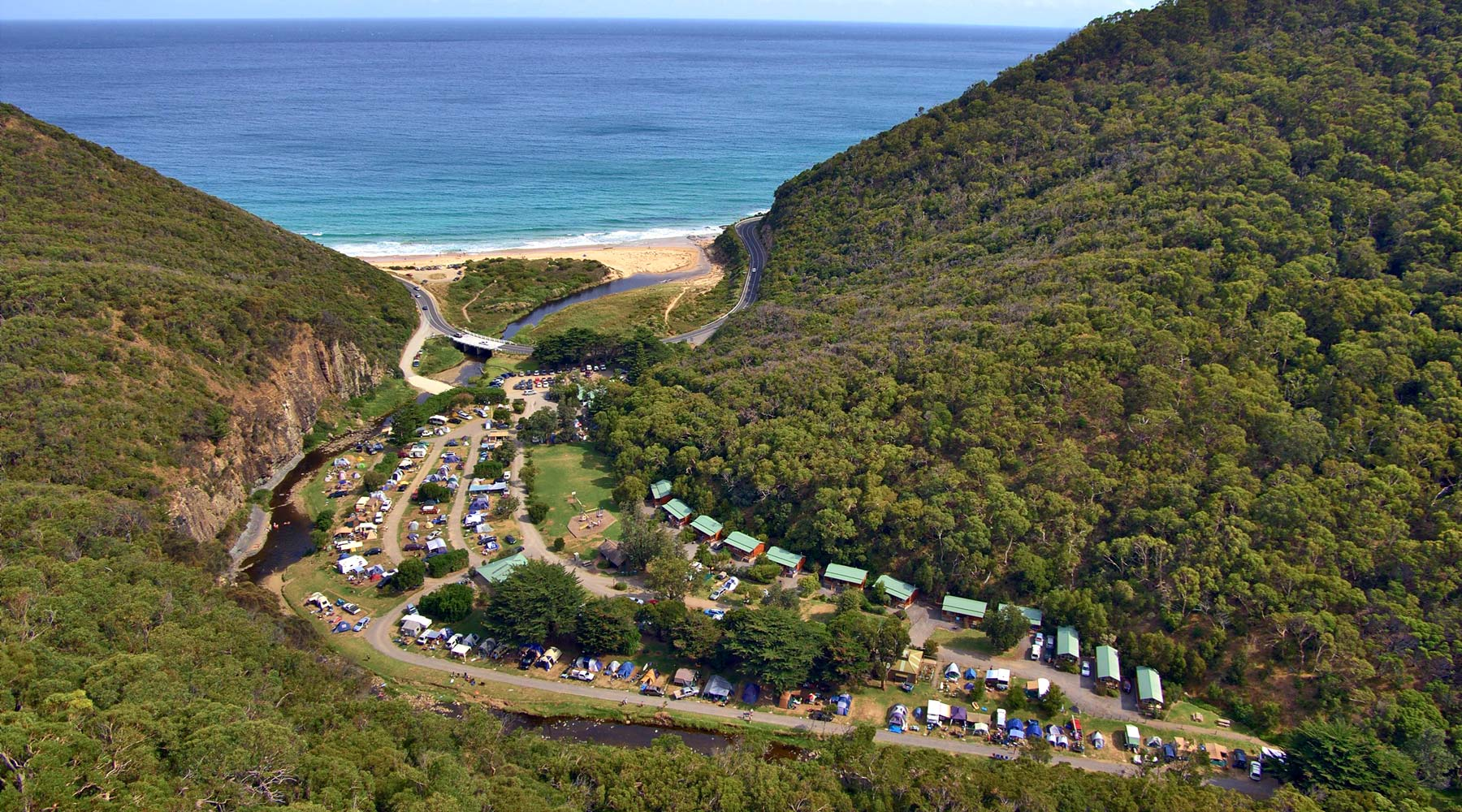 Cumberland River Holiday Park Great Ocean Road Victoria